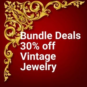 Bundle  deals Jewelry sales 30% off all je…